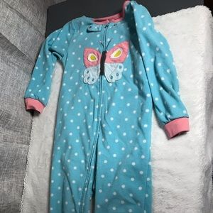 Carter's Pajamas - Carters 4t fleece foot pajamas